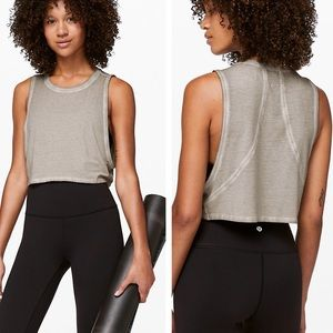 Lululemon Muscle Love Crop Tank Fade (NWOT) 10